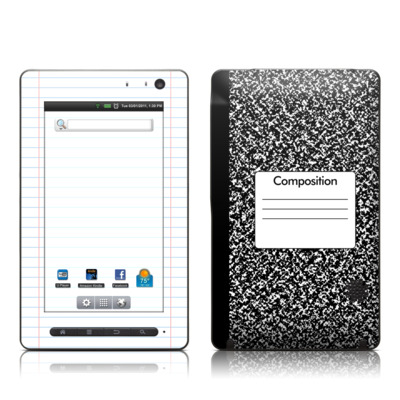 Pandigital Star 7in Skin - Composition Notebook