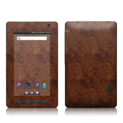 Pandigital Star 7in Skin - Dark Burlwood