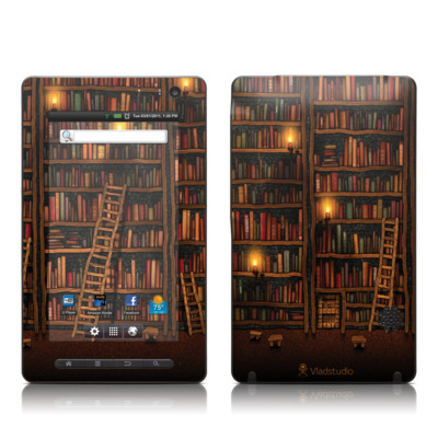 Pandigital Star 7in Skin - Library