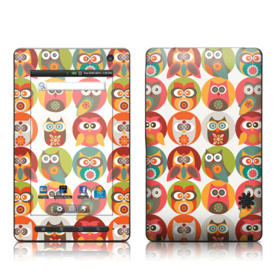 Pandigital Star 7in Skin - Owls Family
