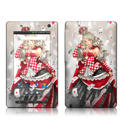 Pandigital Star 7in Skin - Queen Of Cards