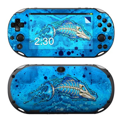 Sony PS Vita 2000 Skin - Barracuda Bones