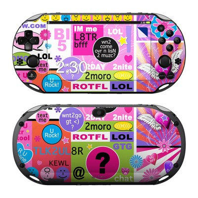 Sony PS Vita 2000 Skin - BFF Girl Talk