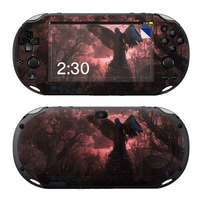 Sony PS Vita 2000 Skin - Black Angel