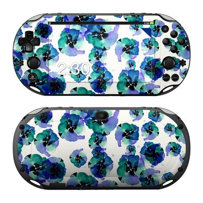 Sony PS Vita 2000 Skin - Blue Eye Flowers