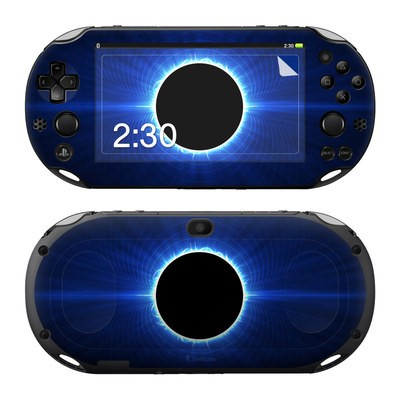 Sony PS Vita 2000 Skin - Blue Star Eclipse