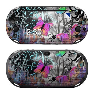 Sony PS Vita 2000 Skin - Butterfly Wall