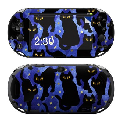 Sony PS Vita 2000 Skin - Cat Silhouettes