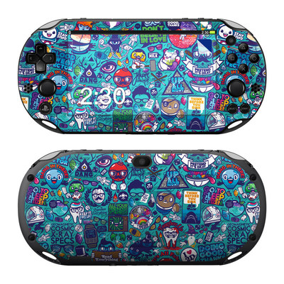 Sony PS Vita 2000 Skin - Cosmic Ray
