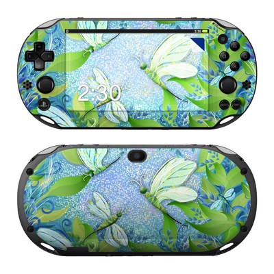 Sony PS Vita 2000 Skin - Dragonfly Fantasy