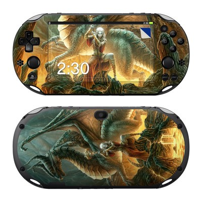 Sony PS Vita 2000 Skin - Dragon Mage