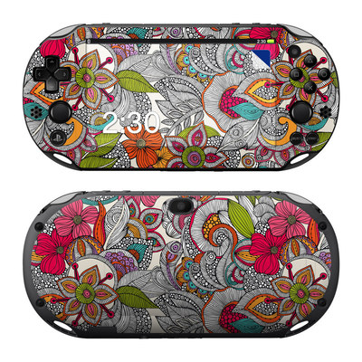 Sony PS Vita 2000 Skin - Doodles Color