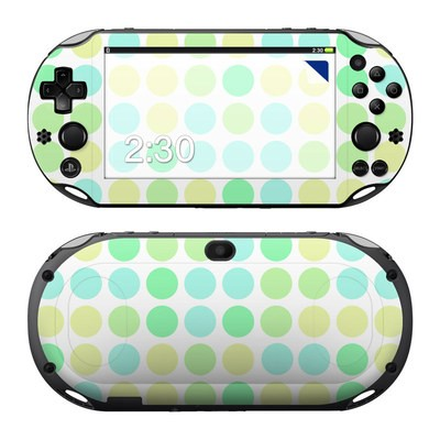 Sony PS Vita 2000 Skin - Big Dots Mint