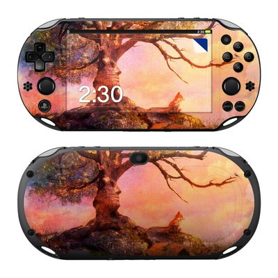 Sony PS Vita 2000 Skin - Fox Sunset