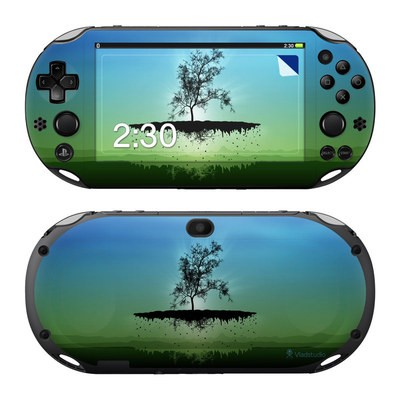 Sony PS Vita 2000 Skin - Flying Tree Blue