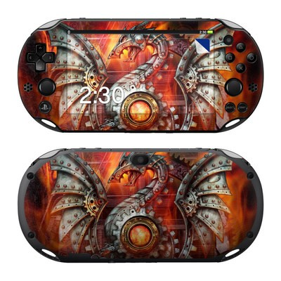 Sony PS Vita 2000 Skin - Furnace Dragon