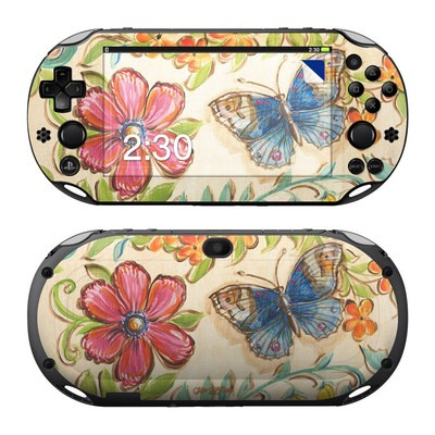 Sony PS Vita 2000 Skin - Garden Scroll