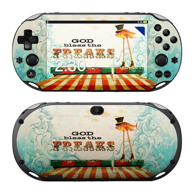 Sony PS Vita 2000 Skin - God Bless The Freaks