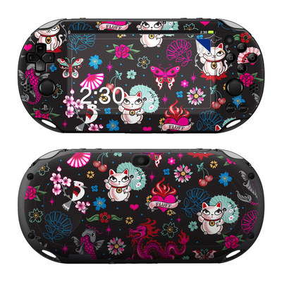 Sony PS Vita 2000 Skin - Geisha Kitty