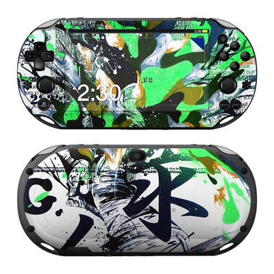 Sony PS Vita 2000 Skin - Green 1