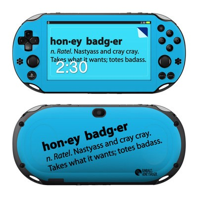 Sony PS Vita 2000 Skin - Honey Badger Definition