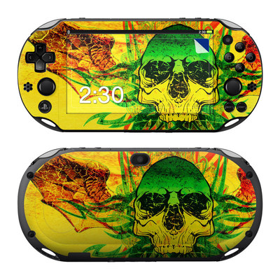 Sony PS Vita 2000 Skin - Hot Tribal Skull