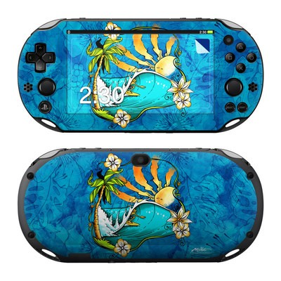 Sony PS Vita 2000 Skin - Island Playground
