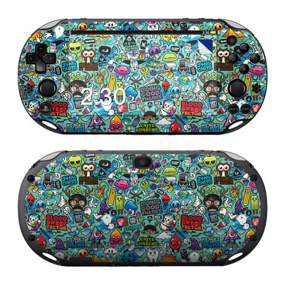 Sony PS Vita 2000 Skin - Cosmic Ray by JThree Concepts