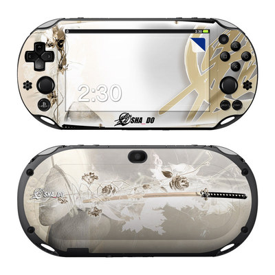 Sony PS Vita 2000 Skin - Katana Gold