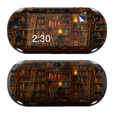 Sony PS Vita 2000 Skin - Library