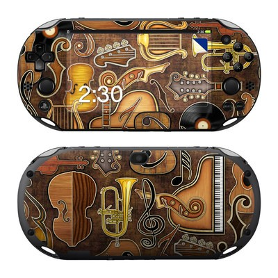 Sony PS Vita 2000 Skin - Music Elements