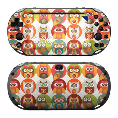 Sony PS Vita 2000 Skin - Owls Family