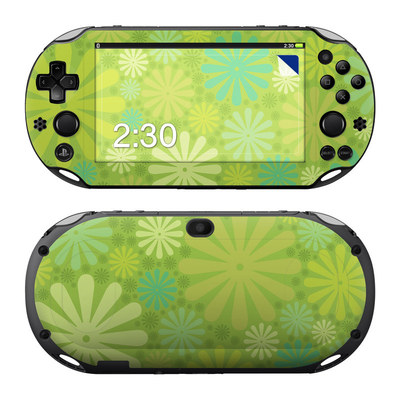 Sony PS Vita 2000 Skin - Lime Punch