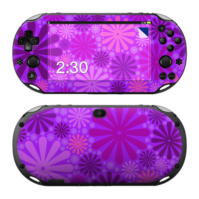 Sony PS Vita 2000 Skin - Purple Punch