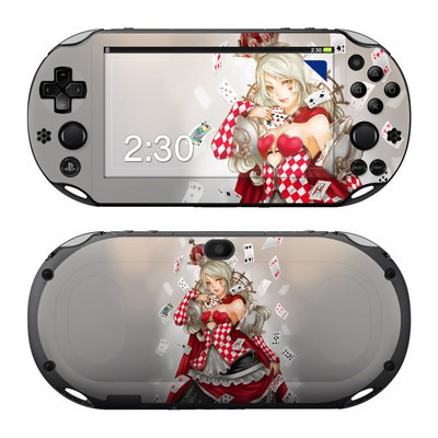 Sony PS Vita 2000 Skin - Queen Of Cards