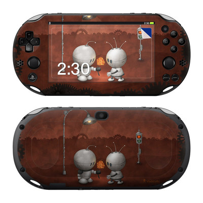 Sony PS Vita 2000 Skin - Robots In Love
