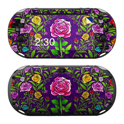 Sony PS Vita 2000 Skin - Rose Burst