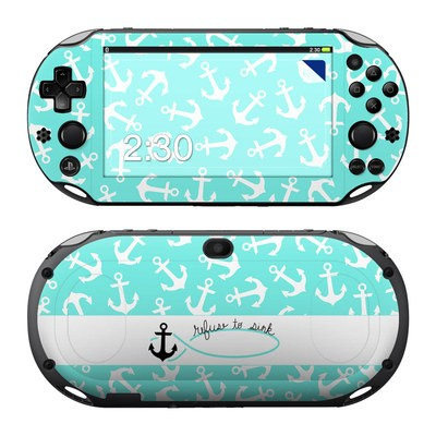 Sony PS Vita 2000 Skin - Refuse to Sink