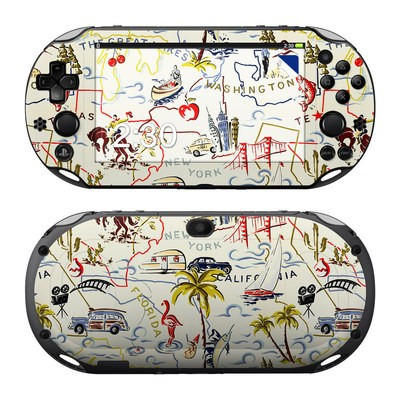 Sony PS Vita 2000 Skin - Road Trip