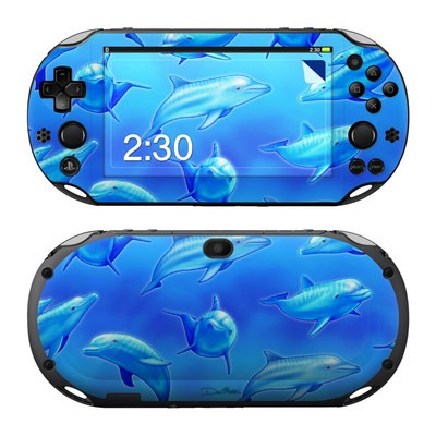 Sony PS Vita 2000 Skin - Swimming Dolphins