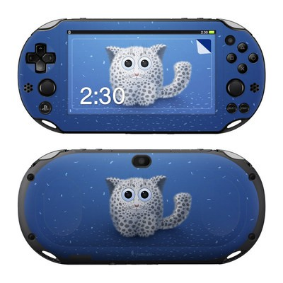 Sony PS Vita 2000 Skin - Snow Leopard