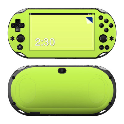Sony PS Vita 2000 Skin - Solid State Lime