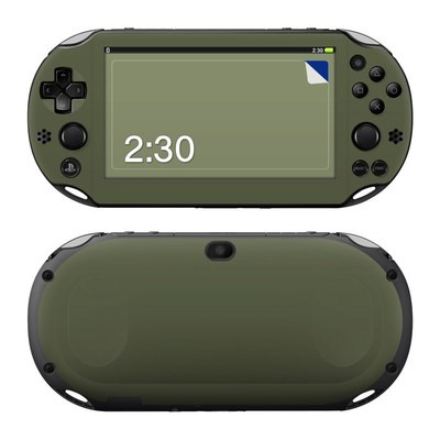 Sony PS Vita 2000 Skin - Solid State Olive Drab