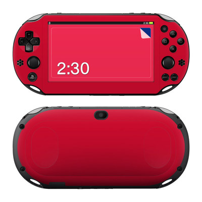 Sony PS Vita 2000 Skin - Solid State Red