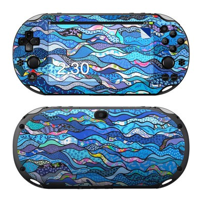 Sony PS Vita 2000 Skin - The Blues