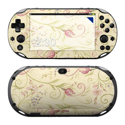 Sony PS Vita 2000 Skin - Tulip Scroll