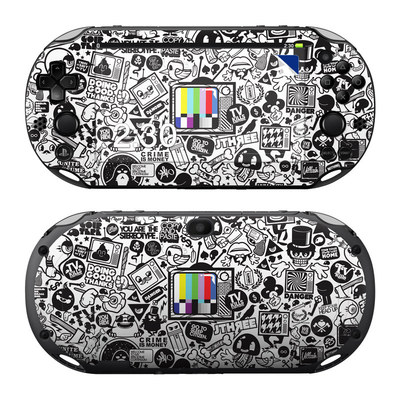 Sony PS Vita 2000 Skin - TV Kills Everything