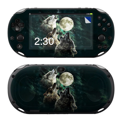 Sony PS Vita 2000 Skin - Three Wolf Moon