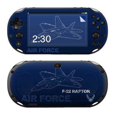 Sony PS Vita 2000 Skin - F-22 Raptor