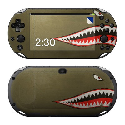 Sony PS Vita 2000 Skin - USAF Shark